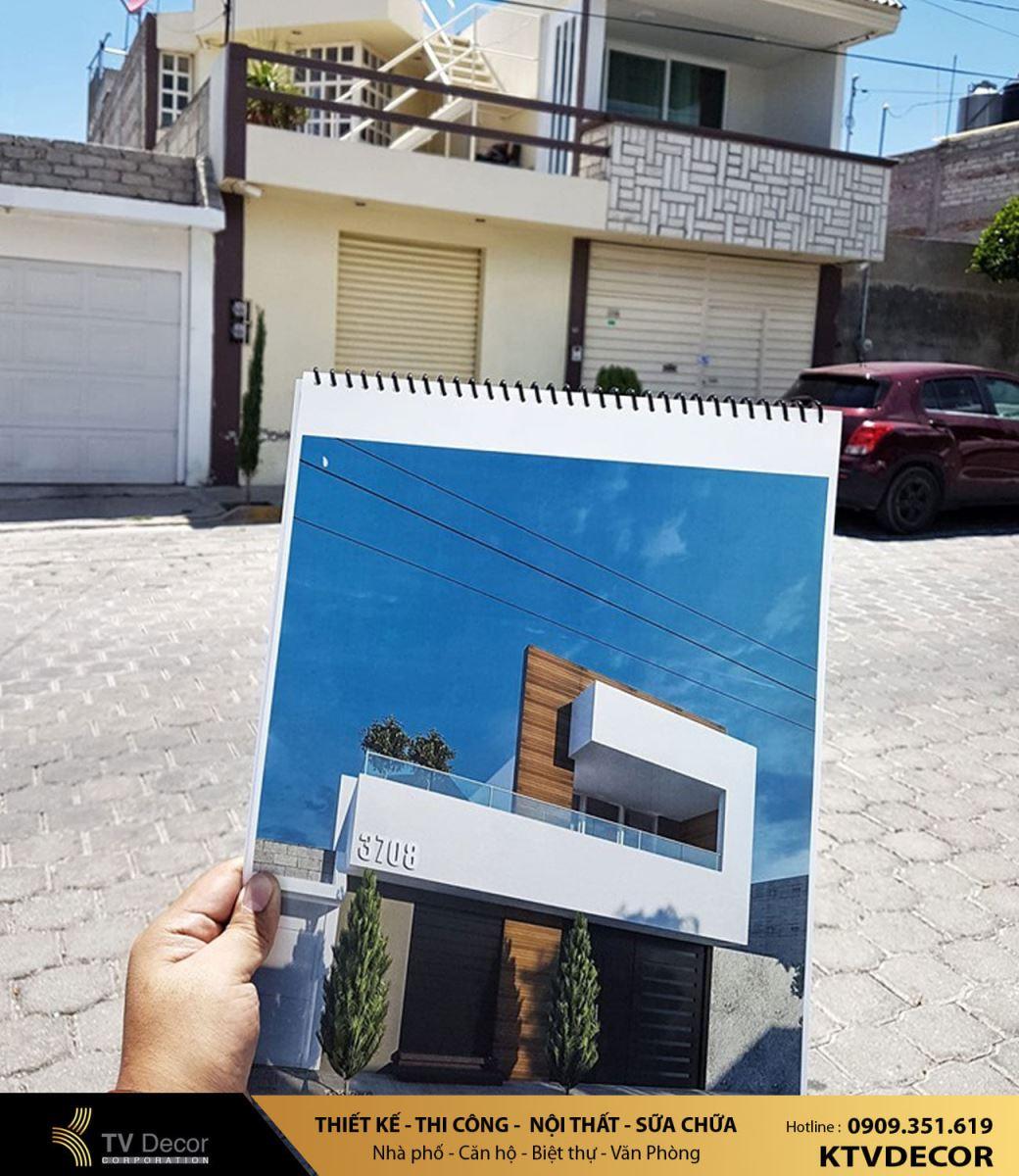 Báo giá thiết kế thi công xây dựng nhà phố tại TPHCM 2