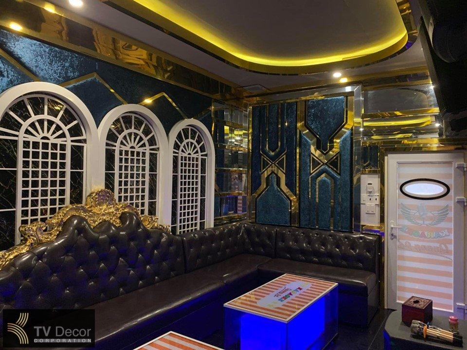 Thiết kế thi công phòng hát karaoke VIP. 2