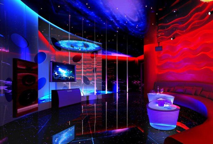 thiết kế phòng karaoke ấn tượng