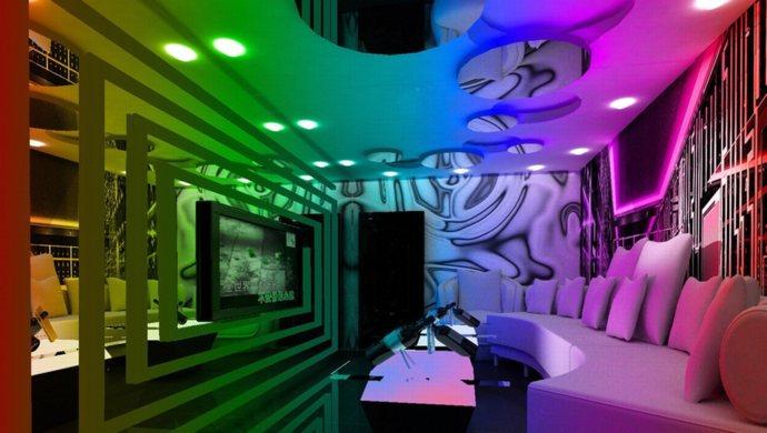 thiết kế phòng karaoke ấn tượng,sang trong,đẳng cấp