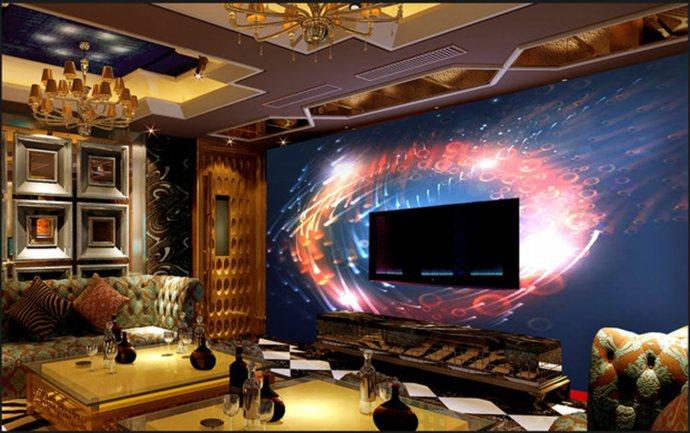 thiết kế phòng karaoke đẹp lạ