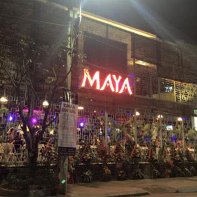 Thiet ke beer club,thi cong beer club,xay dung beer club,Kiến trúc nội thất đẹp Maya Beer Garden,nội thất beer club đẹp
