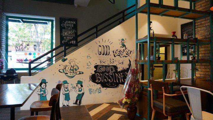 thiết kế nội thất cafe ấn tượng