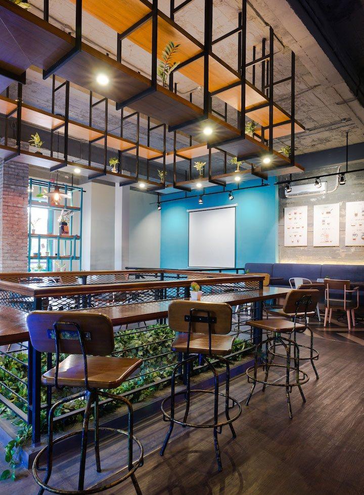 thiết kế nội thất quán cafe coffee ấn tượng