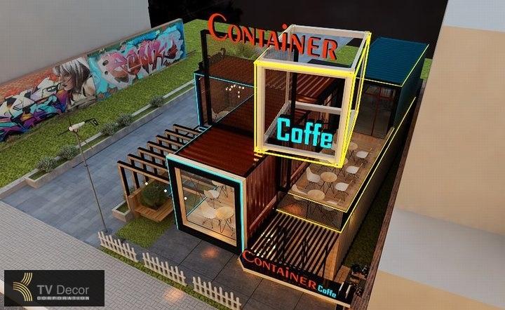 dự án thi công nội thất quán cafe coffee ấn tượng