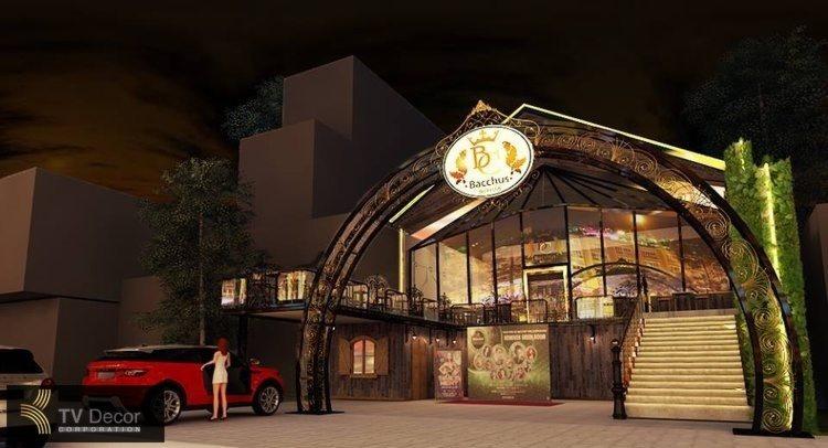 Dự án thiết kế thi công Beer Club tại Đà Lạt , thiết kế bar đà lạt 2
