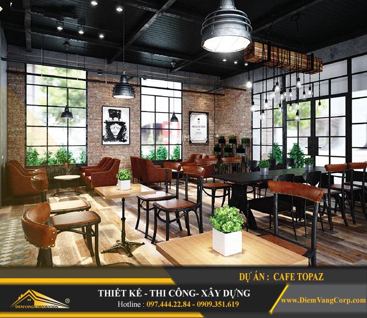 Thiết kế quán cafe đẹp rẻ 5