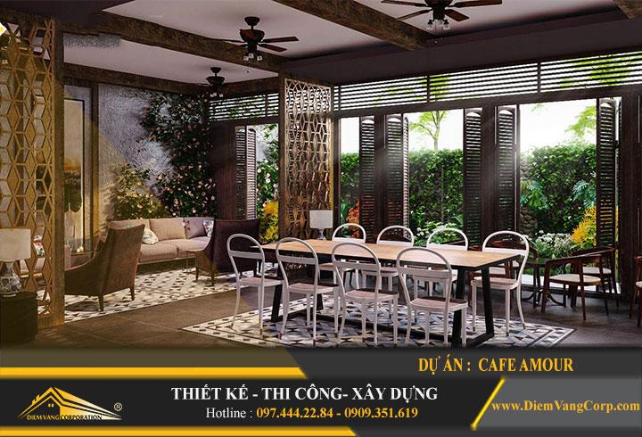 Thiết kế quán cafe đẹp rẻ 6