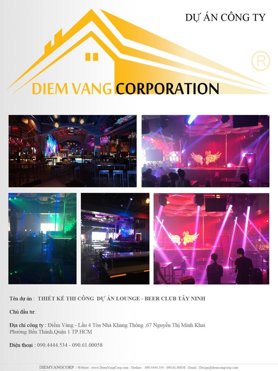 Thi cong nha hang , thi cong beer club ,thi cong lounge