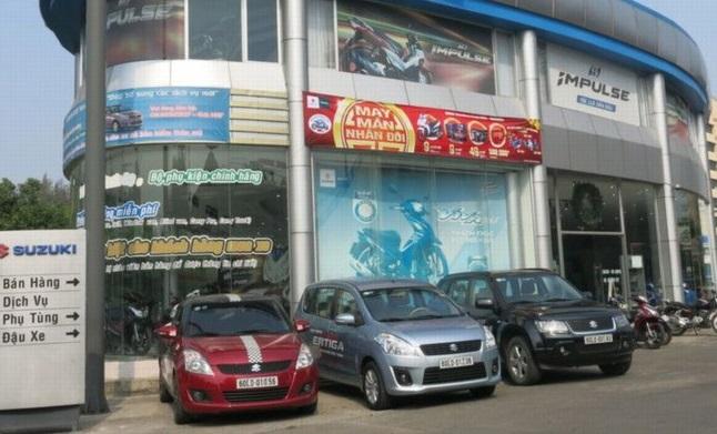 Xây dựng thi công showroom ô tô chuyên nghiệp