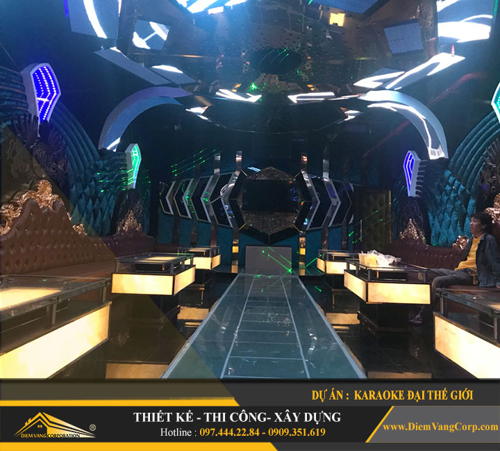 mẫu phòng karaoke vip hút khách