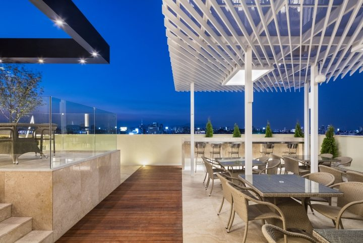 thiết kế thi công ngoại thất hotel hiện đại 3