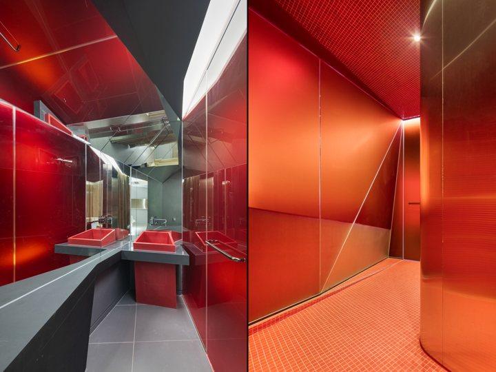 thiết kế màu sắc hotel ấn tượng