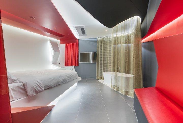 thiết kế trang trí nội thất khách sạn hiện đại