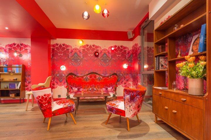thiết kế màu sắc nội thất nhà hàng ấn tượng