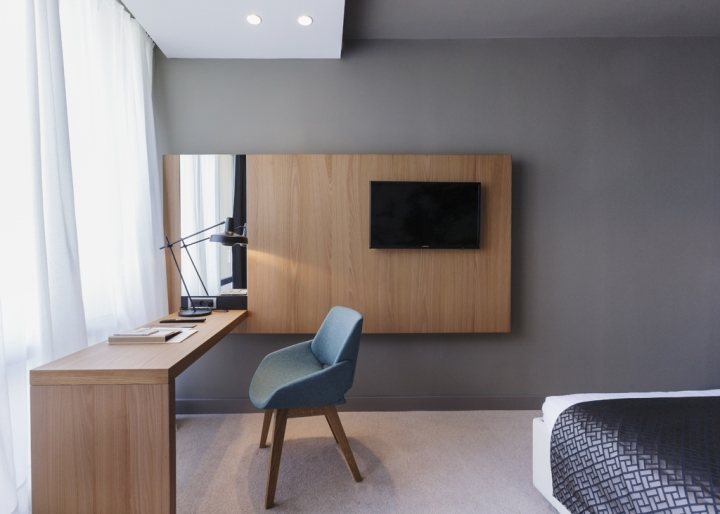 thiết kế nội thất khách sạn hotel độc đáo ấn tượng 7