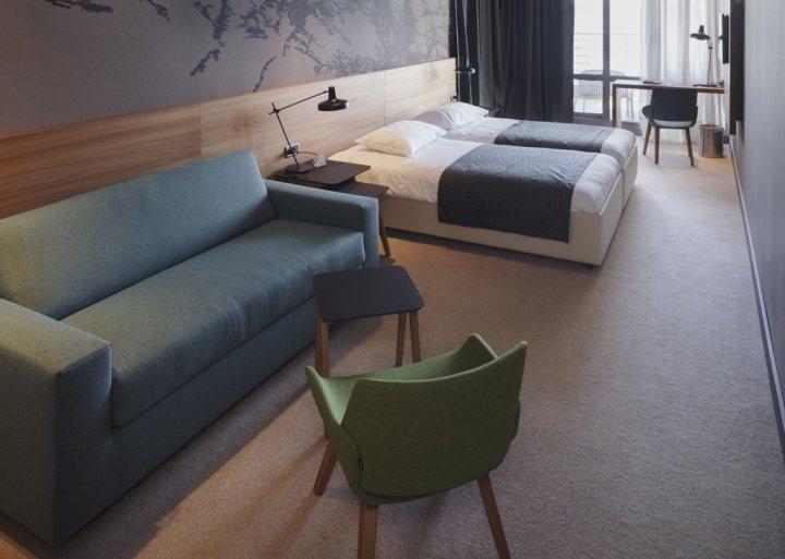 thiết kế nội thất khách sạn hotel độc đáo ấn tượng 8