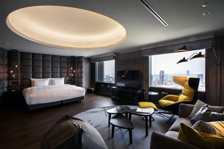 thiết kế nội thất khách sạn độc đáo
