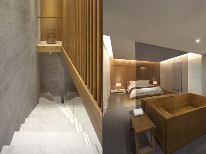 xây dựng nội thất hotel ấn tượng
