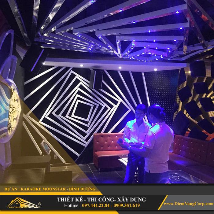 thi cong phong karaoke 2