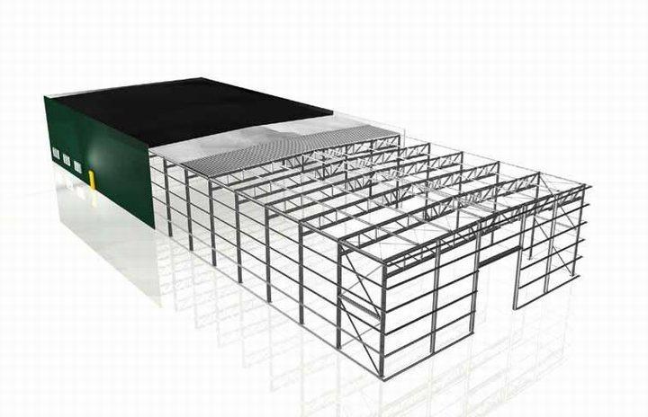xây dựng nội thất nhà xưởng độc đáo 2