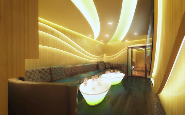 thiết kế phòng karaoke ấn tượng 5