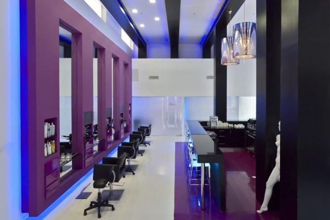 Thiết kế nội thất salon tóc 21