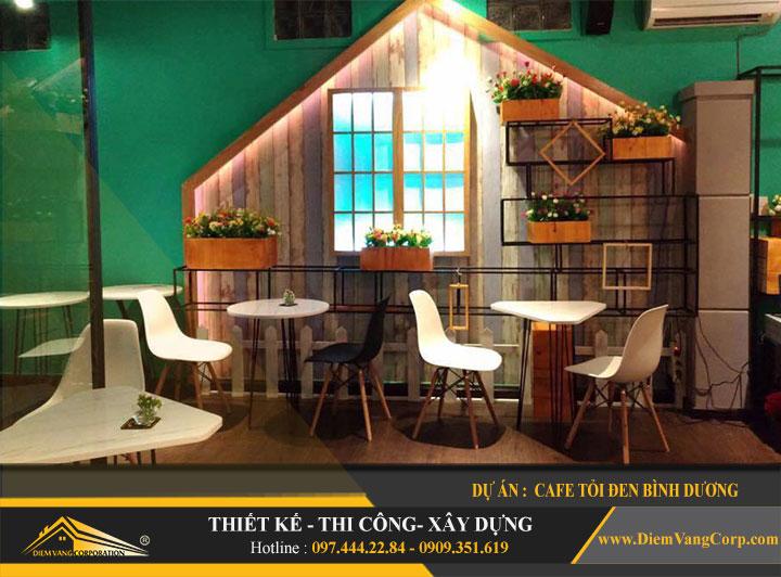 Dự án thiết kế quán Cafe Tỏi Đen-Thủ Dầu Một Bình Dương 11