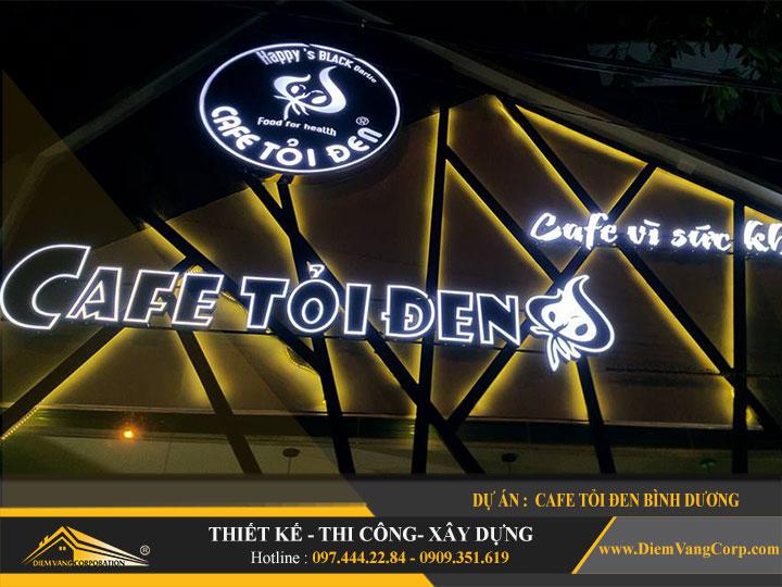 Dự án thiết kế quán Cafe Tỏi Đen-Thủ Dầu Một Bình Dương 6