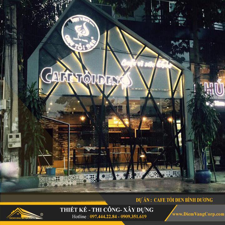 thiết kế thi công quán cafe bình dương