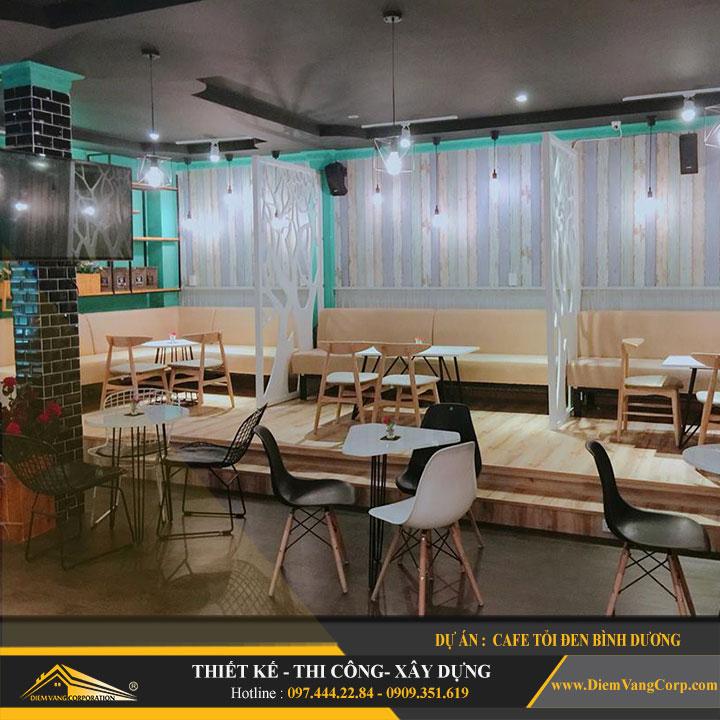 Dự án thiết kế quán Cafe Tỏi Đen-Thủ Dầu Một Bình Dương 8