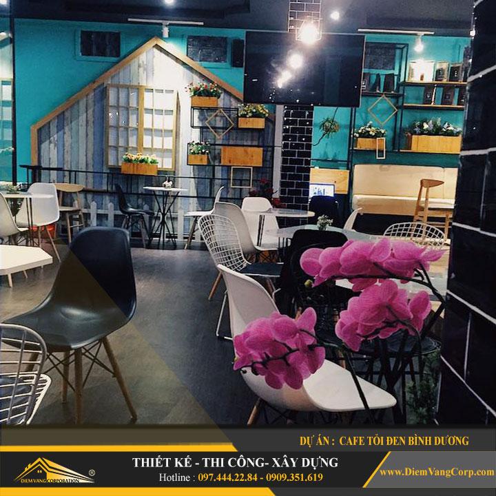 Dự án thiết kế quán Cafe Tỏi Đen-Thủ Dầu Một Bình Dương 9