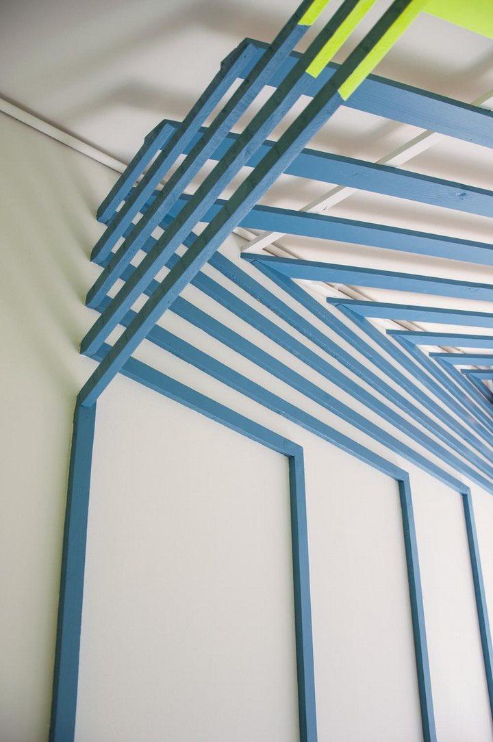 thiết kế trần nhà quán độc đáo