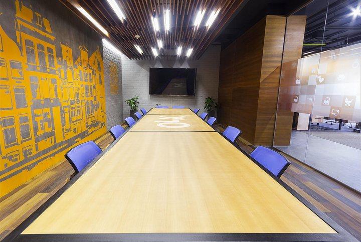 thiết kế văn phòng họp hiện đại