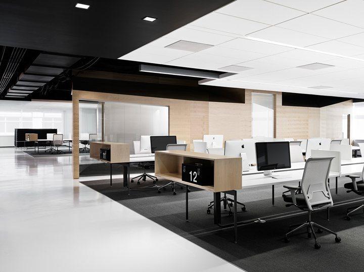 thiết kế nội thất văn phòng màu sắc nổi bật 12