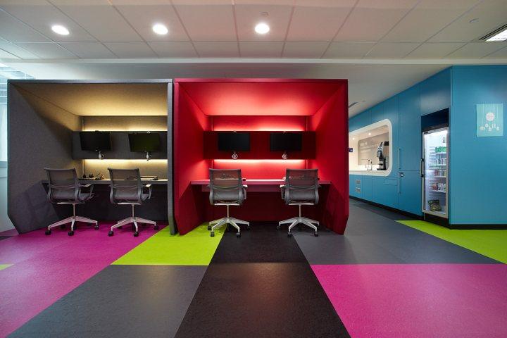thiết kế nội thất văn phòng nổi bật độc đáo