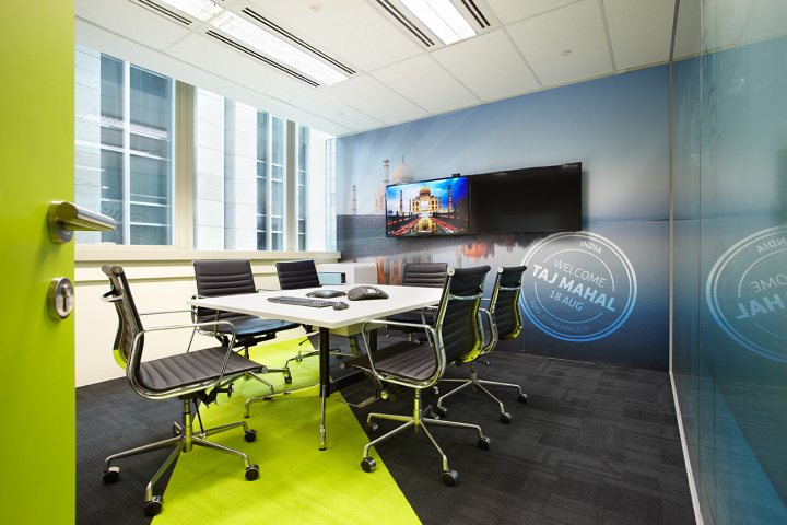 thiết kế nội thất văn phòng nổi bật độc đáo 3