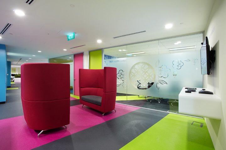 thiết kế nội thất văn phòng nổi bật độc đáo 5