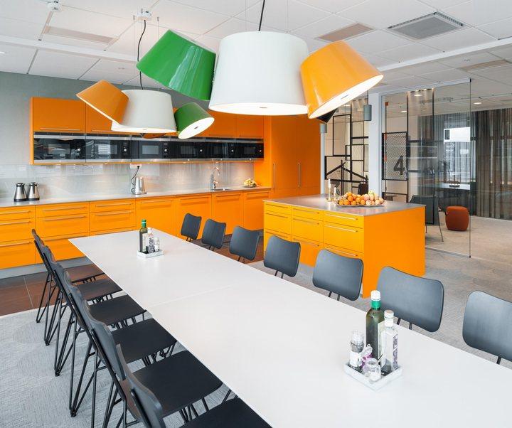 thiết kế nội thất văn phòng độc đáo