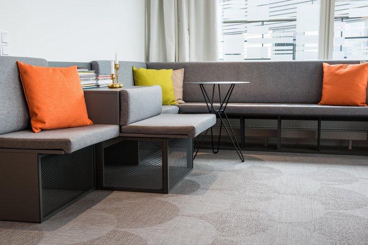 thiết kế bộ sofa ấn tượng cho văn phòng