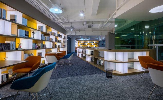 hình ành thiết kế văn phòng độc đáo 2