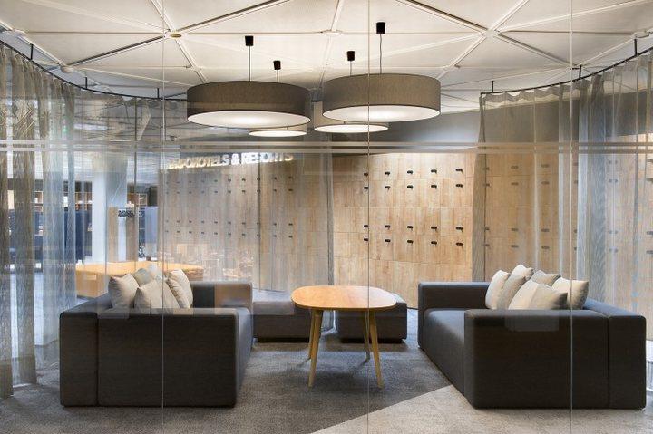 thiết kế nội thất phòng khách văn phòng