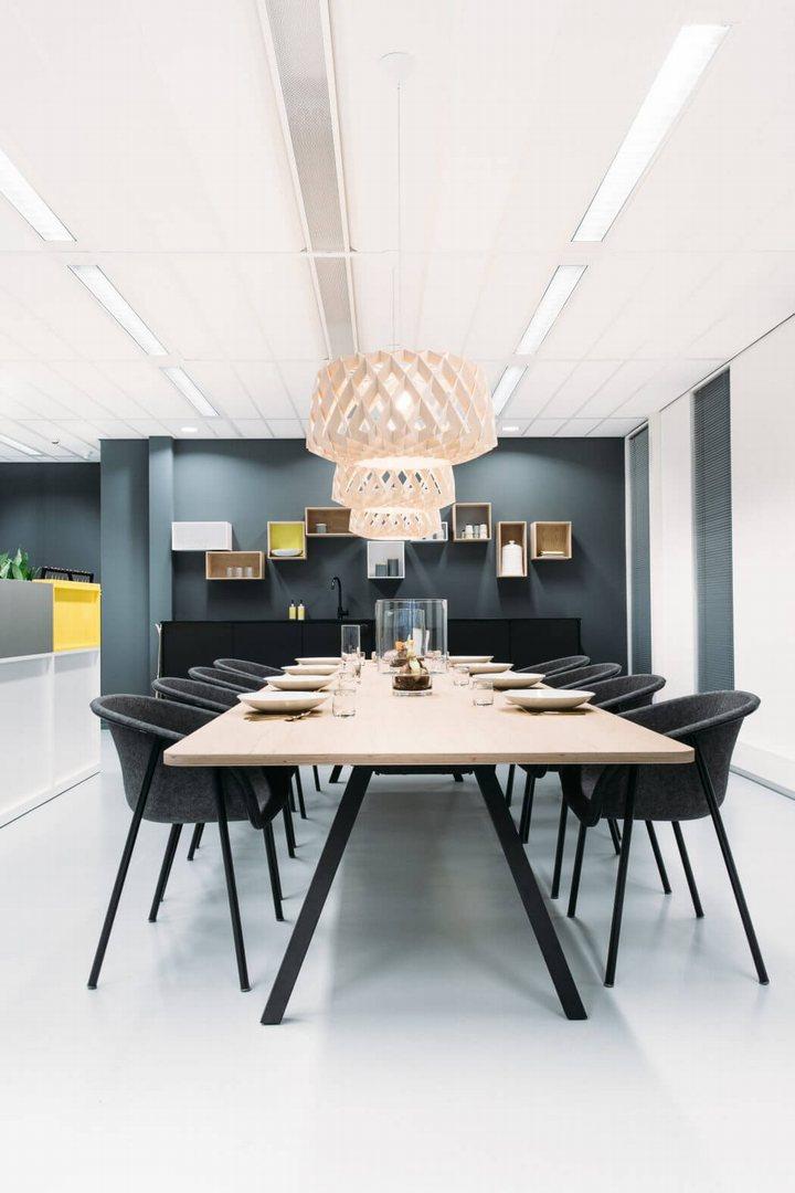 thiết kế nội thất nhà ăn
