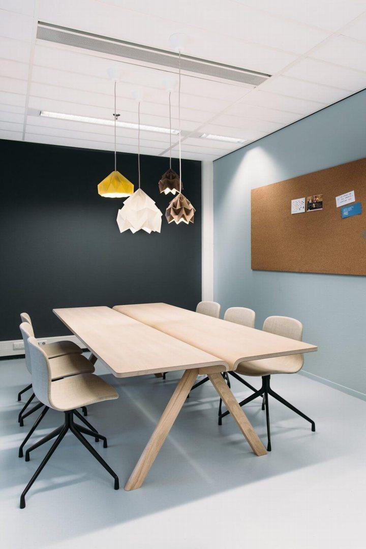 thiết kế nội thất đèn treo trần