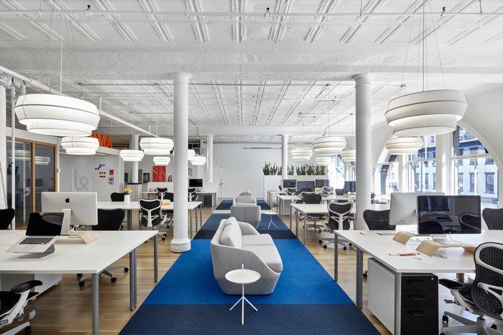 thiết kế bàn ghế làm việc hiện đại