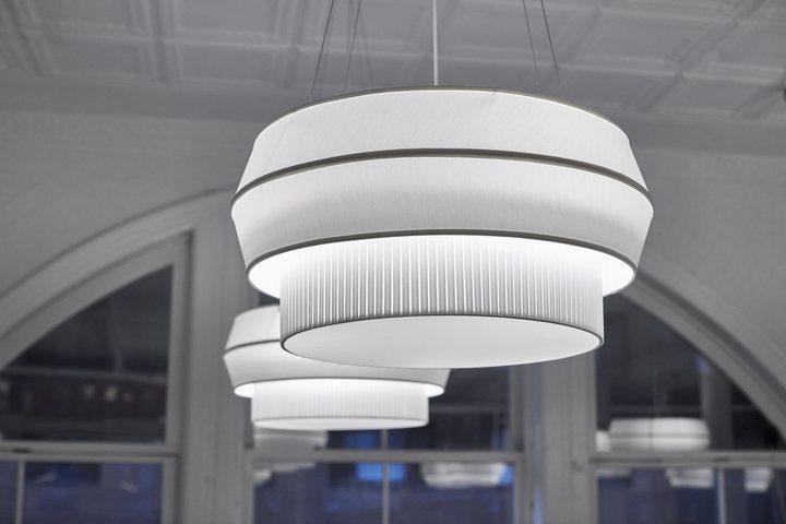 thiết kế đèn ánh sáng văn phòng