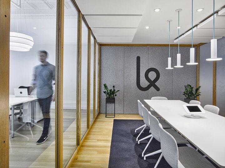 thiết kế nội thất văn phòng hợp tổ