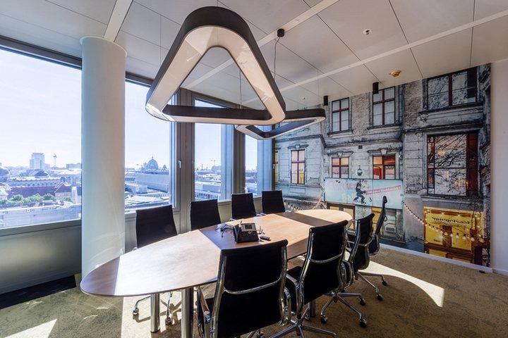 thiết kế phòng họp hiện đại và độc đáo