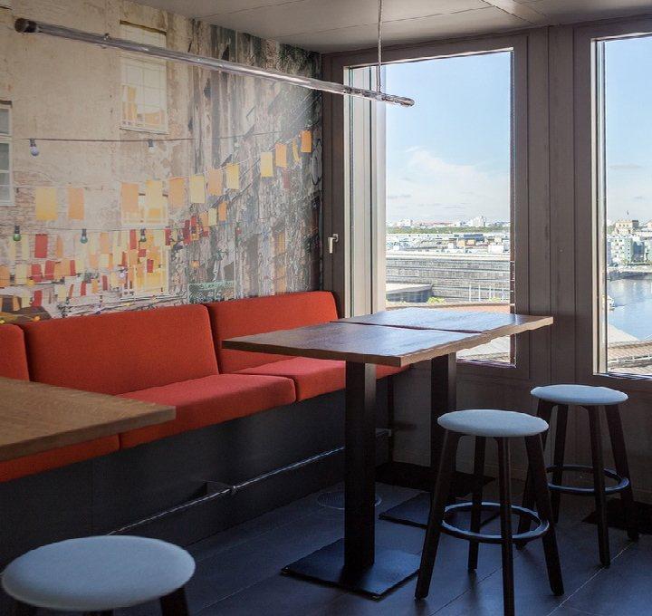 thiết kế khu nghỉ ngơi văn phòng