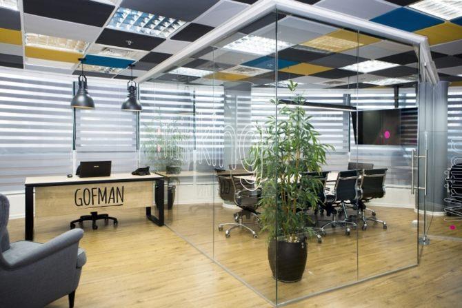 Thiết kế văn phòng chuyên nghiệp và sang trọng 1